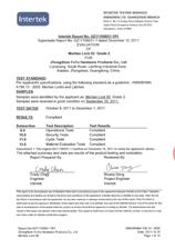 美国美标ANSI二级检测报告