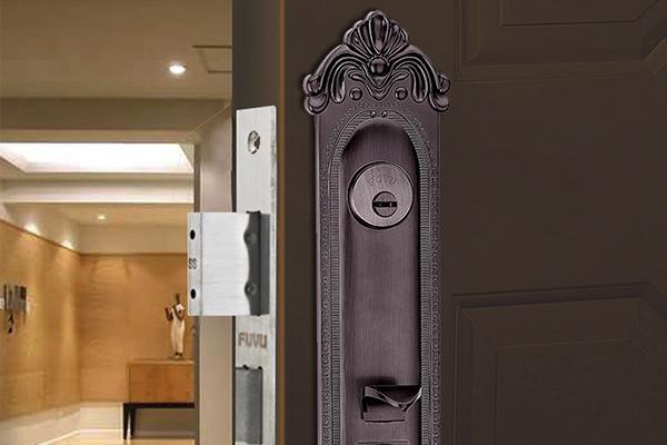 大门锁8121效果图