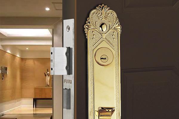 大门锁8118效果图