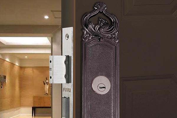 大门锁8113效果图