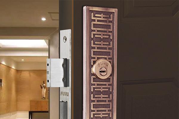 大门锁8126效果图