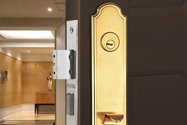 大门锁8131效果图