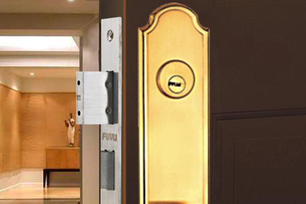 大门锁8133效果图