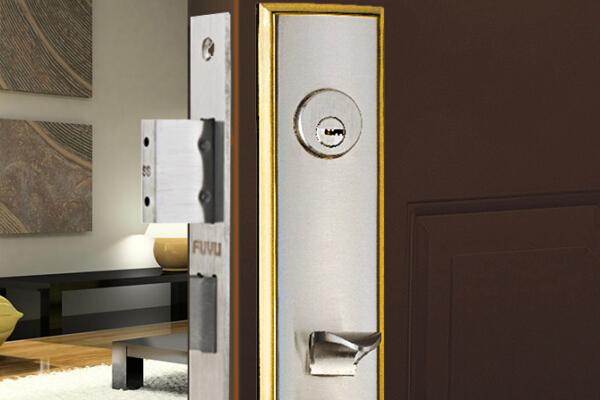 大门锁8103效果图