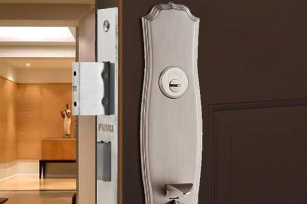 大门锁8135效果图