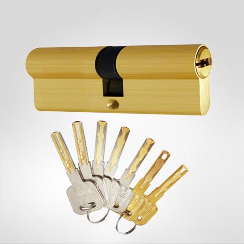 b级锁芯双叶片弹珠结构锁芯