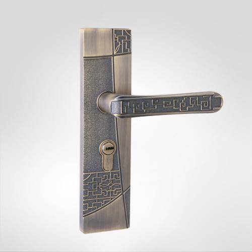 古典小面板执手锁 2918