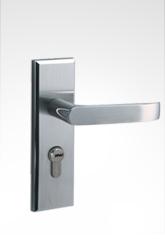 现代小面板执手不锈钢锁 29S03