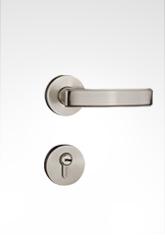 分体装饰盖插芯门锁 2220