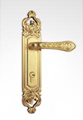 古典欧式面板执手锁 2602