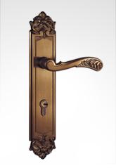古典欧式面板执手锁 2609