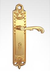 古典欧式面板执手锁 2633