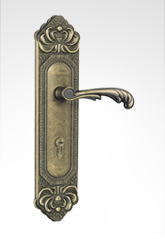 古典欧式面板执手锁 2658