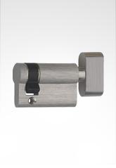 插芯锁单边锁芯配旋钮