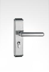不锈钢面板执手房门锁 28ST01