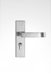 不锈钢面板执手房门锁 28ST03