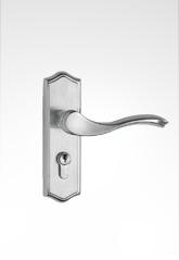 不锈钢面板执手房门锁 28ST12