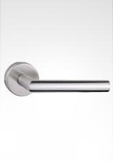 不锈钢弯管执手锁 2253