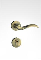 分体装饰盖插芯门锁 2216