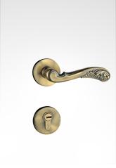 分体装饰盖插芯门锁 2218