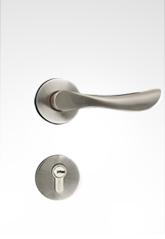 分体装饰盖插芯门锁 2231