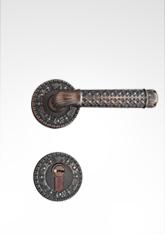 分体装饰盖插芯门锁 2238