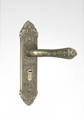 古典小面板执手锁 2912