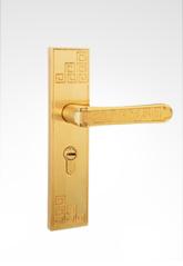 古典小面板执手锁 2919