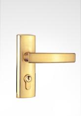 现代简约小面板执手门锁 2811