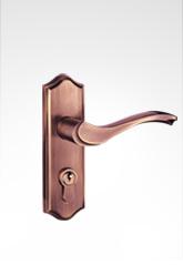 现代简约小面板执手门锁 2822