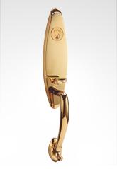 美标大拉手铜锁 82B01