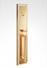 美标大拉手铜锁 82B03