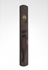 美标纯铜大门锁 82B33