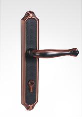 古典欧式面板执手铜锁 26B91