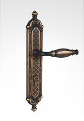 古典欧式面板执手铜锁 26B93