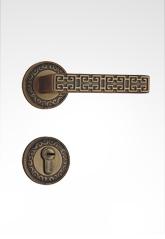 分体装饰盖插芯铜锁 22B11