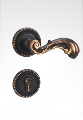 分体装饰盖插芯铜锁 22B08