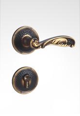 分体装饰盖插芯铜锁 22B05