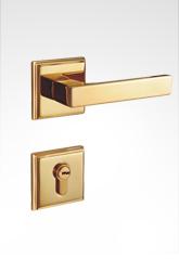 分体装饰盖插芯铜锁 22B03