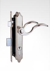铝门合金门插芯锁 2011