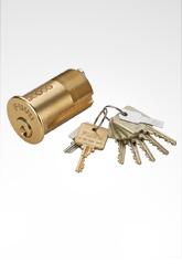 美标锁芯 角度珠锁芯 SG