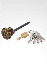 欧标插芯锁芯 双排珠匙81系列 AB