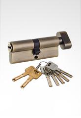 C级锁芯 双叶片匙单开锁芯 AB