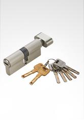 C级锁芯 双叶片匙单开锁芯 SN