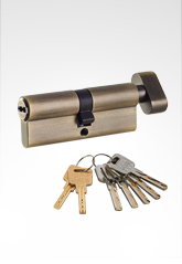 C级锁芯 叶片弹珠匙单开锁芯 AB