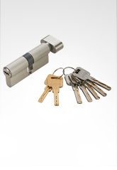 C级锁芯 叶片弹珠匙单开锁芯 SN