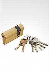 C级锁芯 叶片弹珠匙单边锁芯 SB